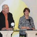 Pablo y Tere Aguiar entrega de Diplomas